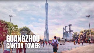 Guangzhou Walking Tour (Tianhe District to Canton Tower) / 廣州市步行遊 (天河區到廣州塔)