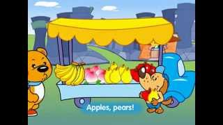 Hello Teddy S1E3: Apples, pears, peaches and bananas!