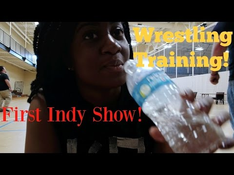 First Indy Show/Wrestling Training | Daily Vlog!