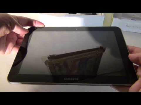 Samsung Galaxy Tab 8.9 Unboxing - Tablet-News.com