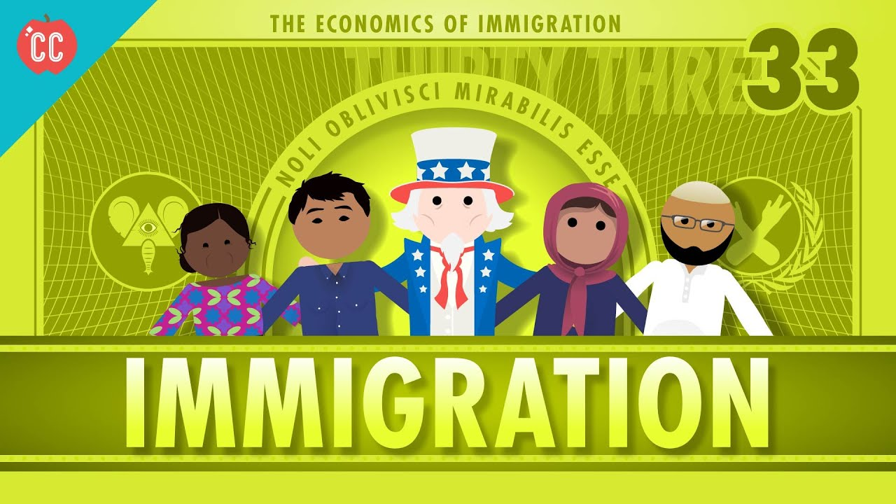 immigration economics Immigration isn't without its negative effects, especially on americans who lack a high school diploma, according to george borjas, a professor of economics and.