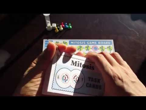 Mitosis Task Cards With Game Board By Tangstar Science