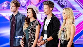 Only the Young sing Something About The Way You Look Tonight - The X Factor UK 2014