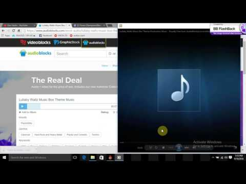 How to download any music from AudioBlocks for free 2016 100% working trick