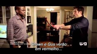 Psych Season 6 - Horror Trailer Legendado PT-BR
