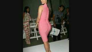 Kim Kardashian and her Amazing curves part 1