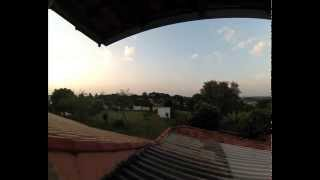 City Castelo Itu - Time lapse (sunset)
