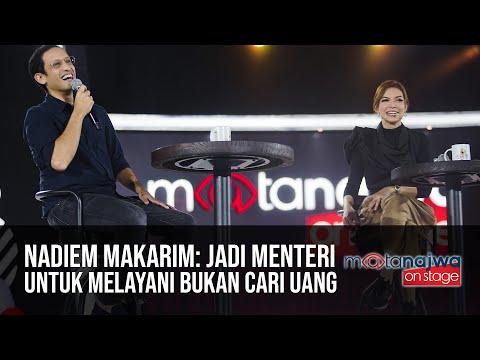 Nadiem Makarim: Jadi Menteri untuk Melayani Bukan Cari Uang (Part 1) | Mata Najwa