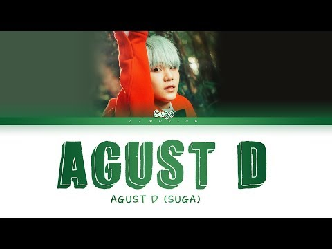 BTS Suga (AGUST D) - Agust D [Color Coded Lyrics/Han/Rom/Eng/가사]