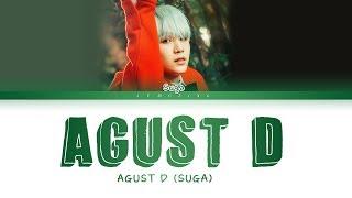 Baixar BTS Suga (AGUST D) - Agust D [Color Coded Lyrics/Han/Rom/Eng/가사]