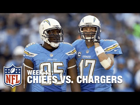 Philip Rivers & Antonio Gates Argue on the Sideline! | Chiefs vs. Chargers | NFL