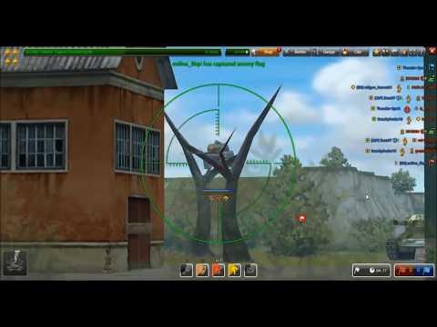 Tanki Online Chiropractor Kit Gameplay (Shaft M2, Hunter M2)