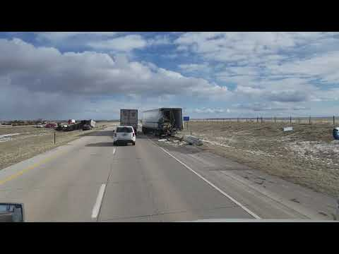 Accident Burns, Wyoming MM-386
