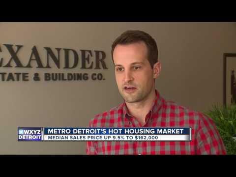 Metro Detroit's hot housing market