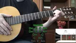 ТУМАН Сектор Газа. Как играть на гитаре