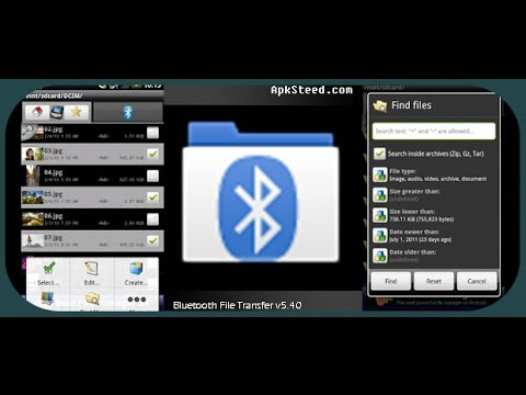 Как передавать информацию через Bluetooth File Transfer
