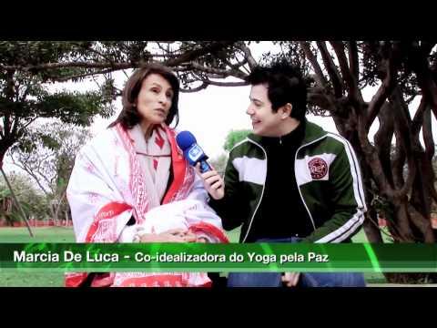Yoga pela Paz 2010: evento celebra as boas vibrações em São Paulo - 1/2