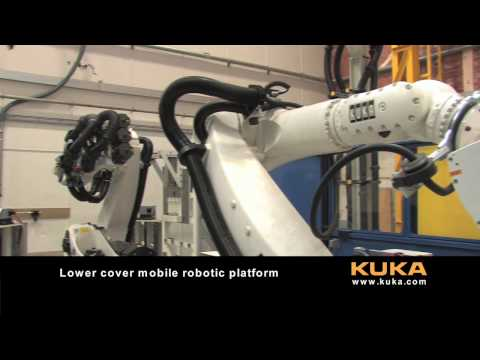 KUKA Aerospace - Assembly of complex aircraft structures