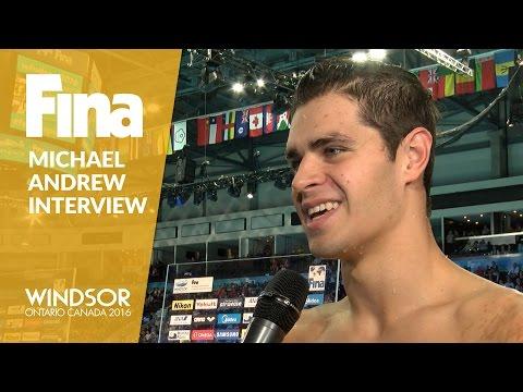 Michael Andrew | Interview | Winner of Men's 100m Individual Medley | Windsor 2016