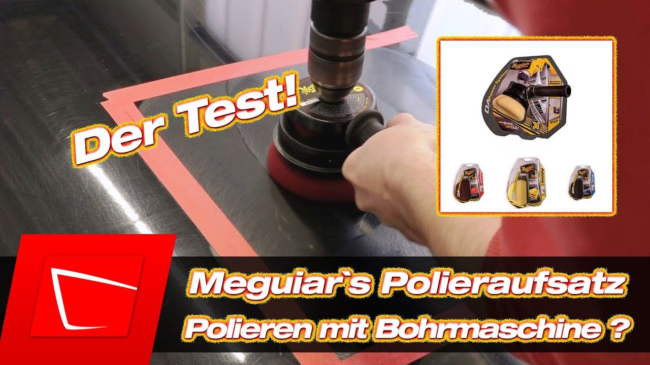 auto polieren f r anf nger meguiar 39 s dual action power system polieren mit bohrmaschine youtube. Black Bedroom Furniture Sets. Home Design Ideas