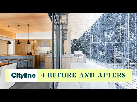 4 phenomenal beforeandafter design transformations from Colin & Justin