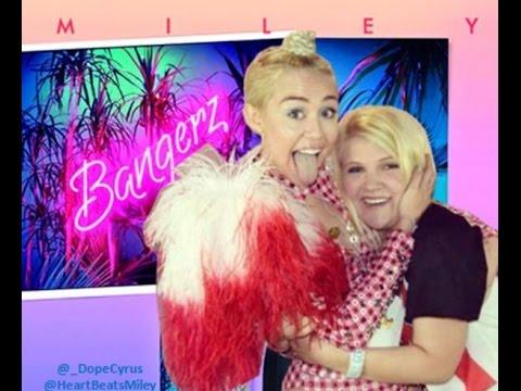 Meeting Miley Cyrus/Bangerz Tour Experience - YouTube
