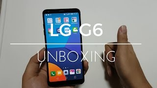 LG G6 Black 64GB Unboxing Video