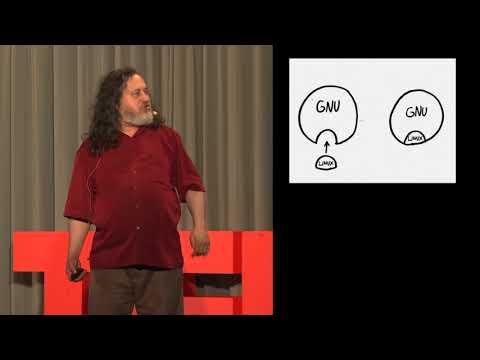 Free software, free society. Richard Stallman at TEDxGeneva 2014 (documentary) - Hack News