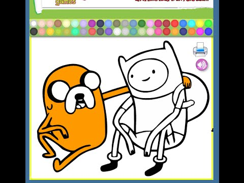 Free Adventure Time Coloring Pages For Kids