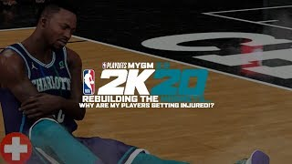 WHY ARE MY PLAYERS GETTING INJURED IN THE PLAYOFFS WTF!? (NBA 2K20 HORNETS MYGM 2.0 EP.23) 🤕
