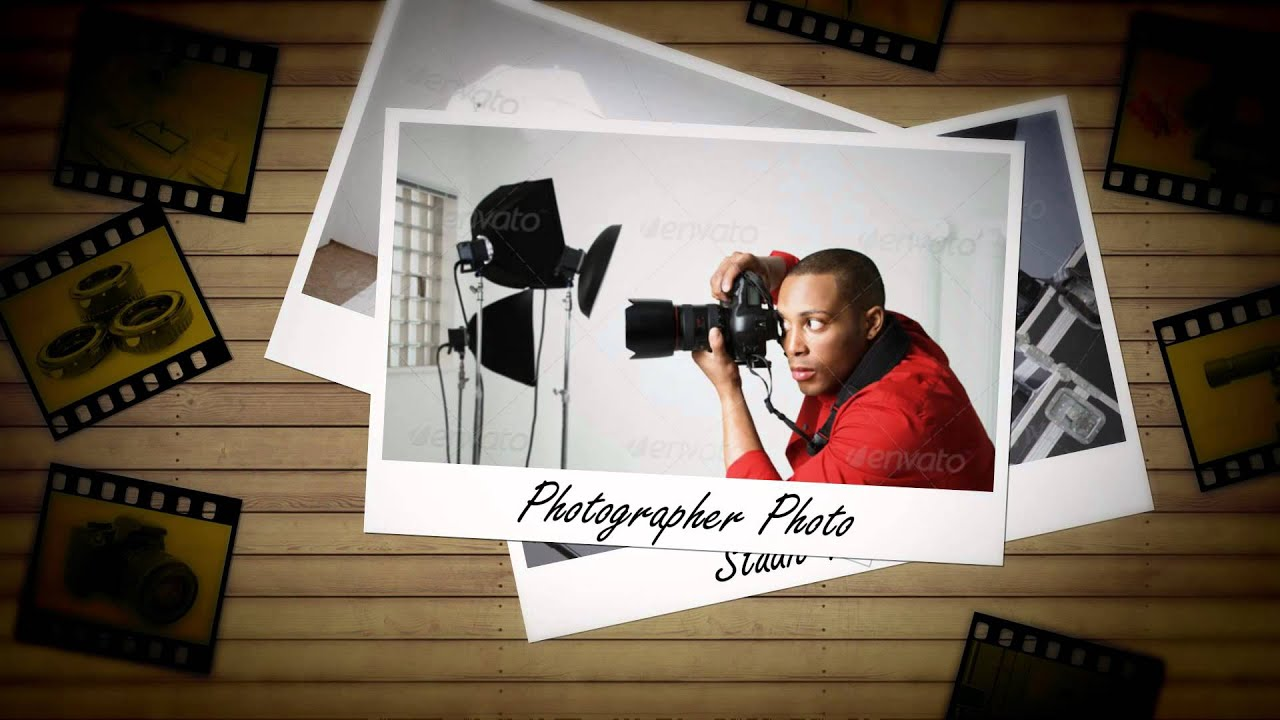 photo studio logo reveal after effects template youtube