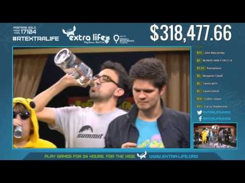 Rooster Teeth - Extra Life 2015 - Gus (Cheese Master Highlights)