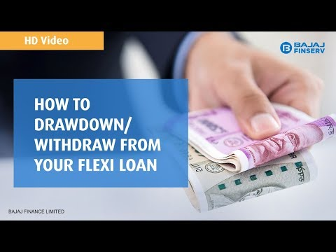 How to Drawdown/Withdraw from your Flexi loan | Bajaj Finserv