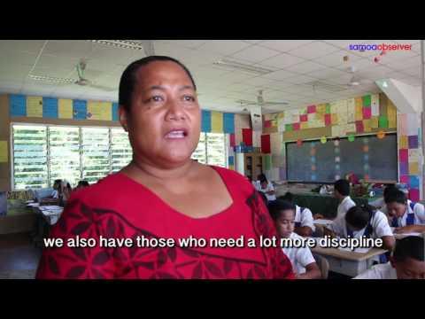 Samoa honours her teachers