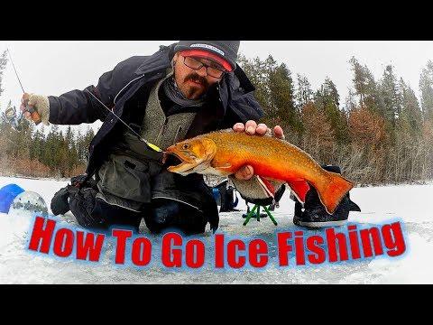 Washington Ice Fishing: How To Go Ice Fishing (Hot Trout Bite)