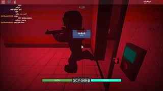 Class-D Escape Attempt!: Roblox SCP RBreach
