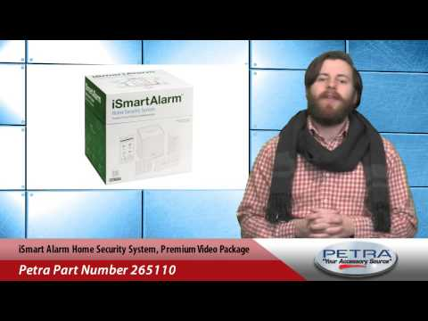 iSmart Alarm Home Security System, Premium Video Package