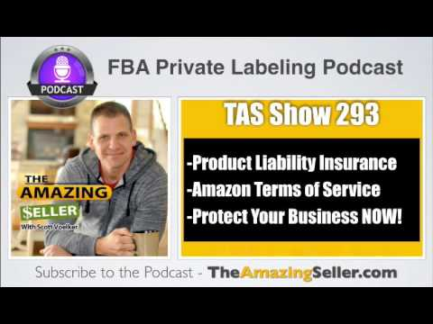 Do I Need Insurance for Each & Every Product or Just For My brand? TAS 293: The Amazing Seller