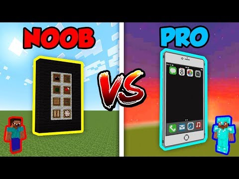 Minecraft NOOB vs. PRO: IPHONE in Minecraft!