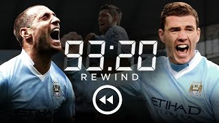 Download MAN CITY 3-2 QPR | HD Extended Highlights | 93:20 Rewind