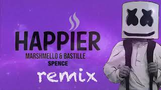Marshmello ft. Bastille - Happier (SPENCE Remix) Official Audio