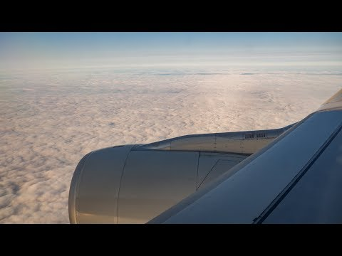 **Inflight Video** | Sunrise and Approach into Adelaide Airport