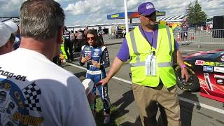 Danica Patrick cursed out Pocono Fans for 2 little boo's.