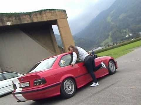 Amy Girl Drift 2010 With Bmw 325i E36 Acs Interlaken Youtube