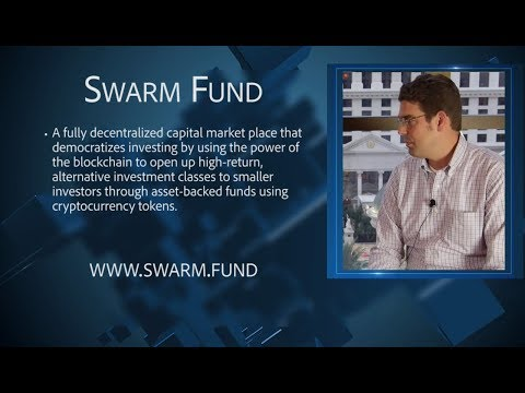 Swarm Fund | The A.I. Driven Investment Economy | CEO Philipp Pieper | CoinAgenda Summit Conference