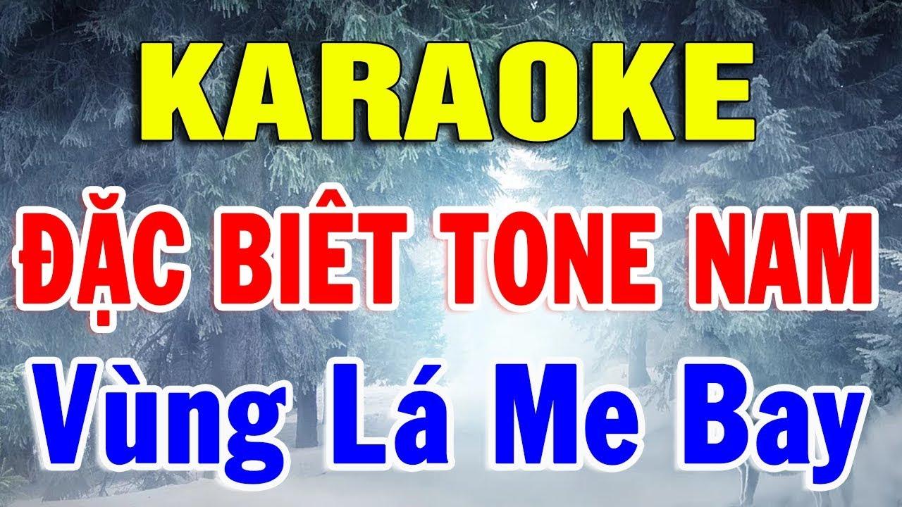 Karaoke Nhạc Sống Bolero Đặc Biệt Tone Nam | Liên Khúc Rumba Vùng Lá Me Bay | Karaoke Trọng Hiếu
