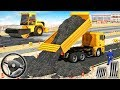 Excavator Simulator - Construction Road Builder - Construction Vehicles - Android GamePlay #1
