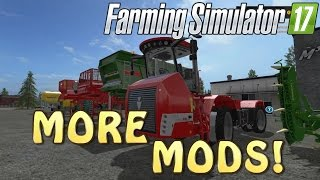 Even More MODS! in The Game | How To Install And So On | Farming Simulator 2017 | PS4 | Xbox One