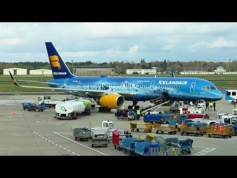 TRIP REPORT | Icelandair 757 | Reykjavik to Berlin TXL | INAUGURAL FLIGHT | Boeing 757-200