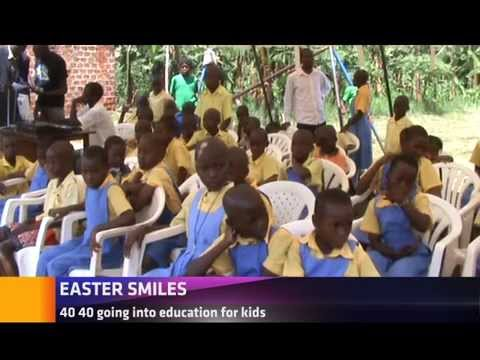 EASTER AT AN ORPHANAGE IN LUWERO DISTRICT
